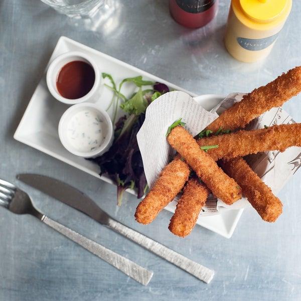 Les Cheddar Stick du Harper's #Cheddar #Stick #Miam