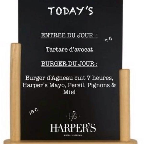✖️Le plat du Lundi 9 mars ✖️#TeamHarpers #Todays