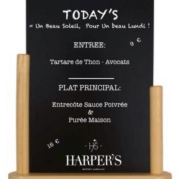 ✖️Le plat du Lundi 22.03 ✖️#TeamHarpers #Today
