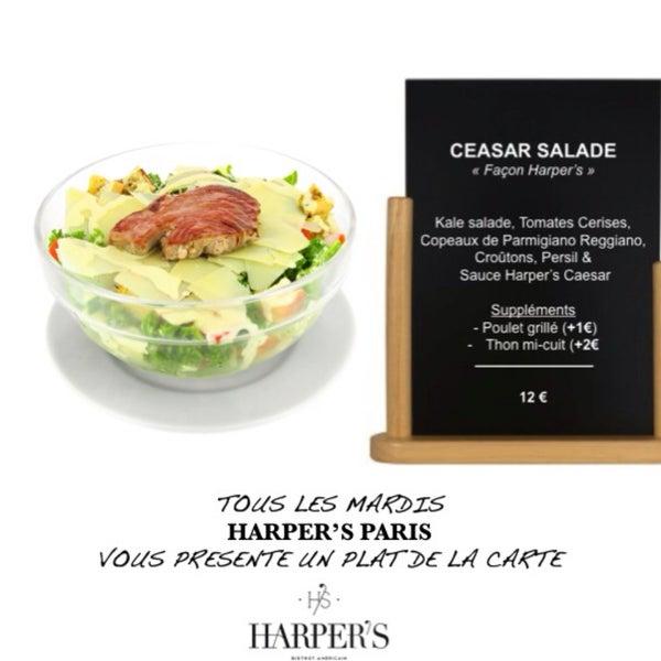 ✖️Chaque Mardi, présentation d'un plat....  ✖️This Week : César Salade