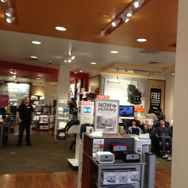 brookstone electronics store in costa mesa. Black Bedroom Furniture Sets. Home Design Ideas