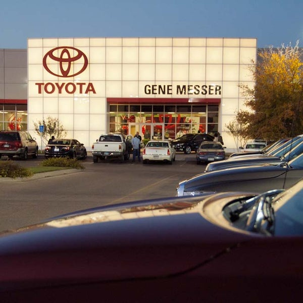 Photo Taken At Gene Messer Toyota By Gene Messer Toyota On 3/4/2015