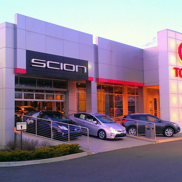 Colonial Toyota in Milford - Downtown Milford - Harbor ...