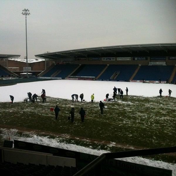 Photo taken at The Proact Stadium by Mark S. on 1/25/2013