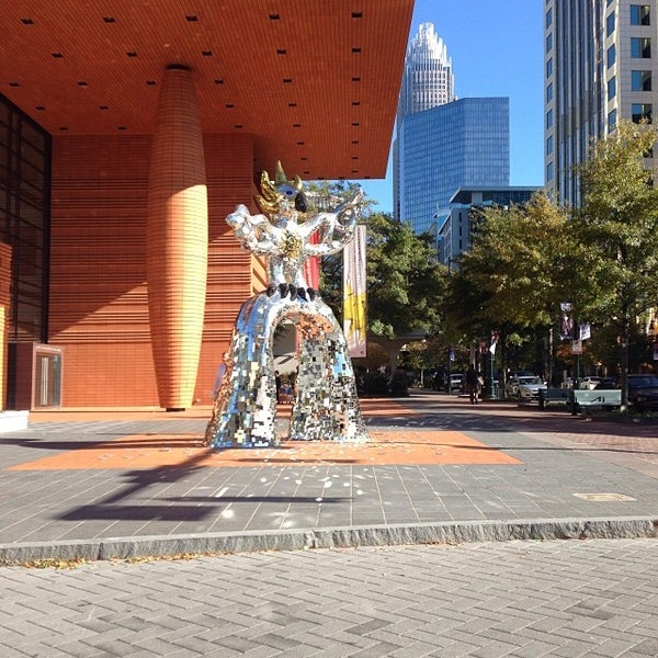 Photo taken at Bechtler Museum of Modern Art by LiveUptownNow.com on 11/14/2013