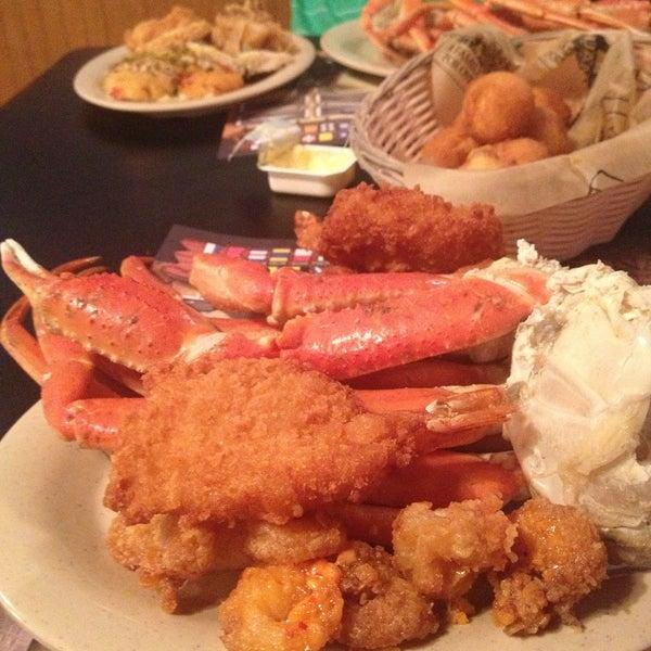 Photo taken at The Original Benjamin's Calabash Seafood by Adam B. on 5/4/2013