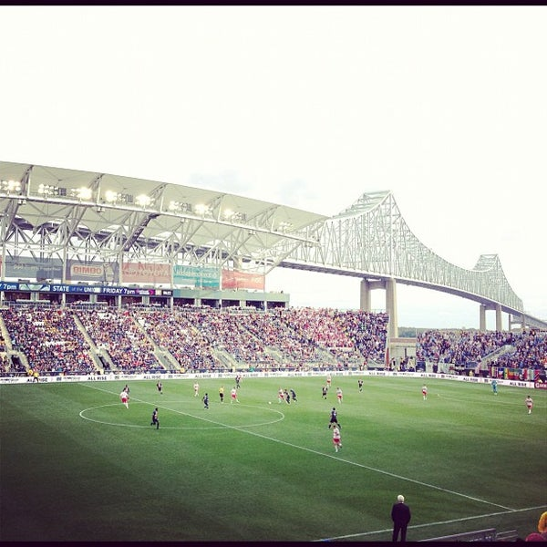 Photo taken at Talen Energy Stadium by Peter K. on 10/27/2012