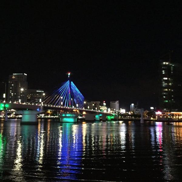 Photo taken at Han River Bridge by Vu H. on 8/5/2016