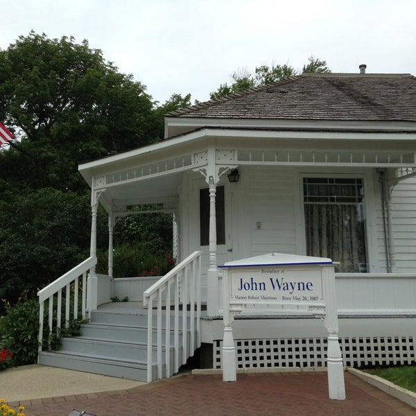 Photo taken at John Wayne Birthplace Museum by Dustin R. on 7/29/2013
