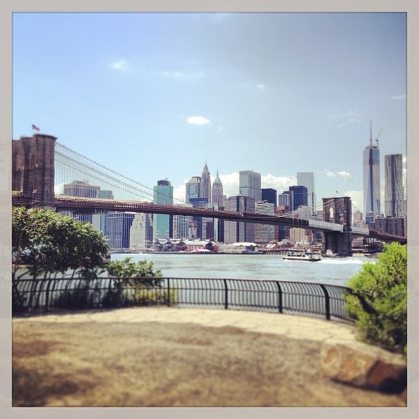 Photo taken at Brooklyn Bridge Park by Nick D. on 8/6/2013