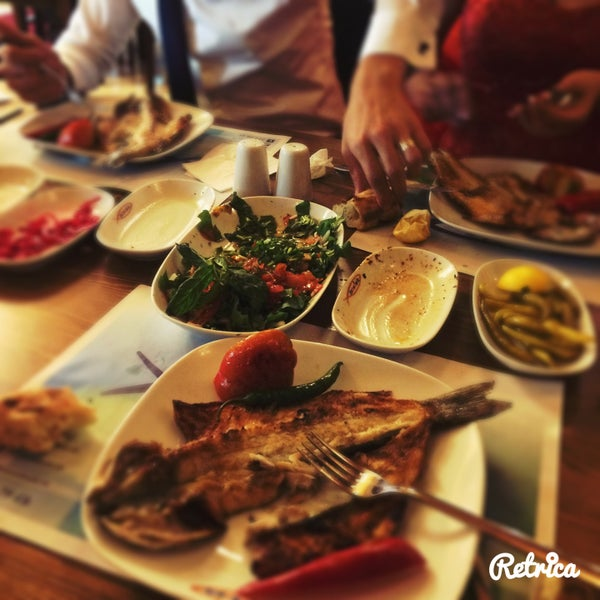 5/19/2015 tarihinde Feyza K.ziyaretçi tarafından Ekonomik Balık Restaurant Avanos'de çekilen fotoğraf