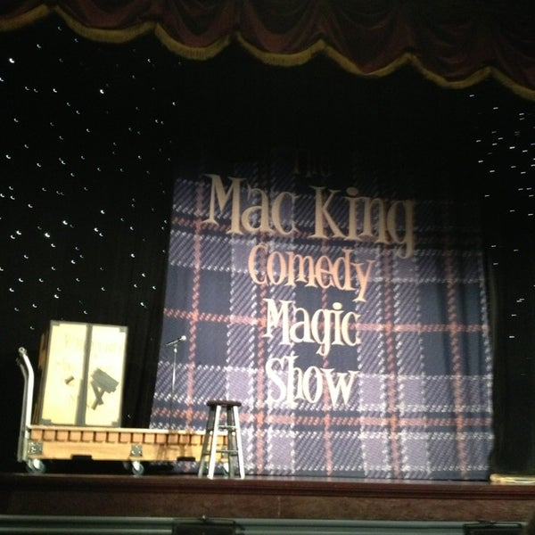 Photo taken at The Mac King Comedy Magic Show by Liliana K. on 8/2/2013