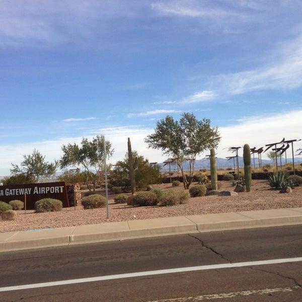 Photo taken at Phoenix-Mesa Gateway Airport (AZA) by Martin K. on 1/6/2013