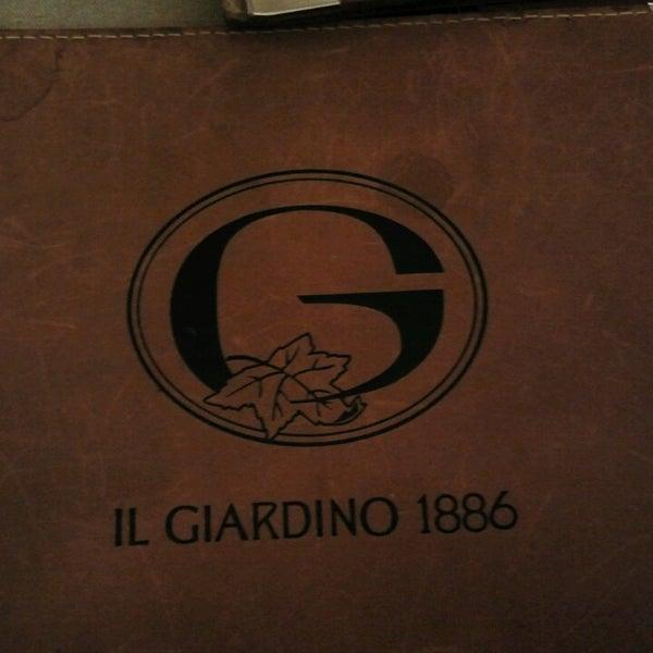รูปภาพถ่ายที่ Il Giardino 1886 โดย Alessandra Z. เมื่อ 4/14/2013