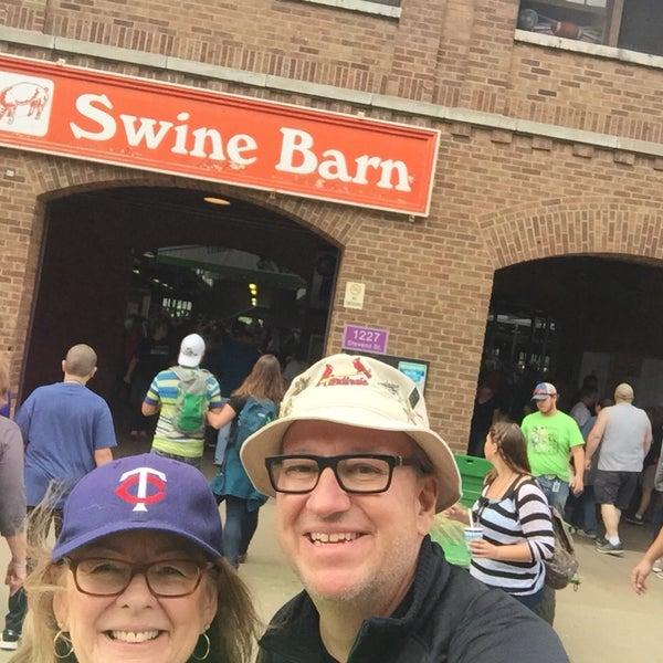 Photo taken at Swine Barn by Mark S. on 8/25/2017