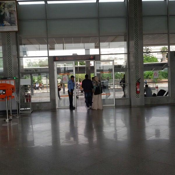 Photo taken at Gare de Mohammédia  محطة المحمدية by Anouar N. on 6/5/2014