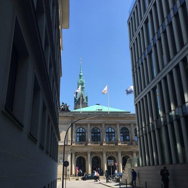Photo taken at Hamburg Chamber of Commerce by Jörg S. on 5/10/2016