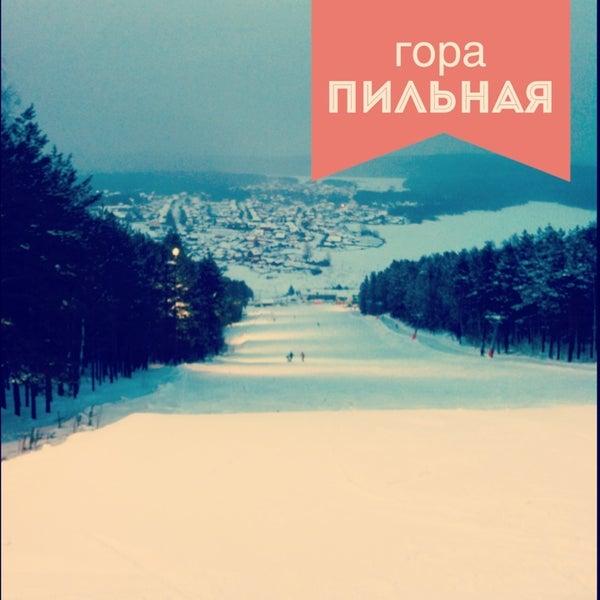 Снимок сделан в ГЛК Гора Пильная пользователем Pavel K. 3/6/2013