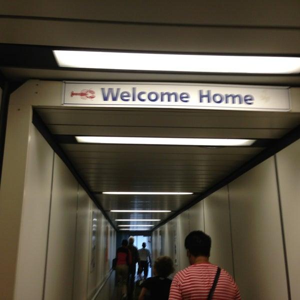 Photo taken at Portland International Jetport (PWM) by Megan B. on 8/18/2013