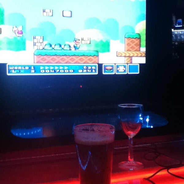 Photo taken at Player 1 Video Game Bar by Eric R. on 7/23/2013