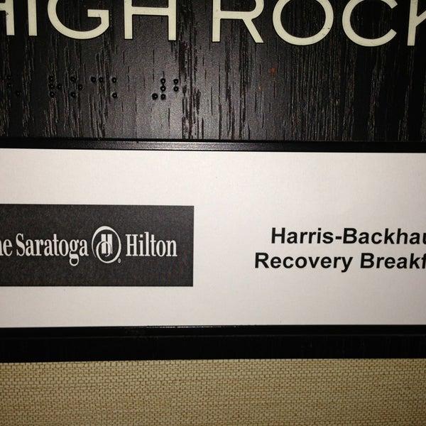 Photo taken at The Saratoga Hilton by Benton H. on 1/1/2013