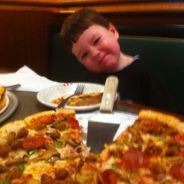 Photo taken at Gondolier Pizza by Matt H. on 1/30/2013