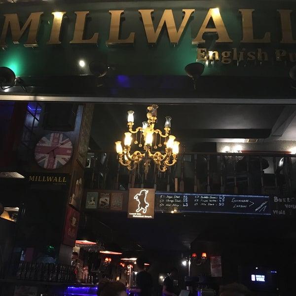 Photo taken at Millwall English Pub by Selwa on 8/29/2017