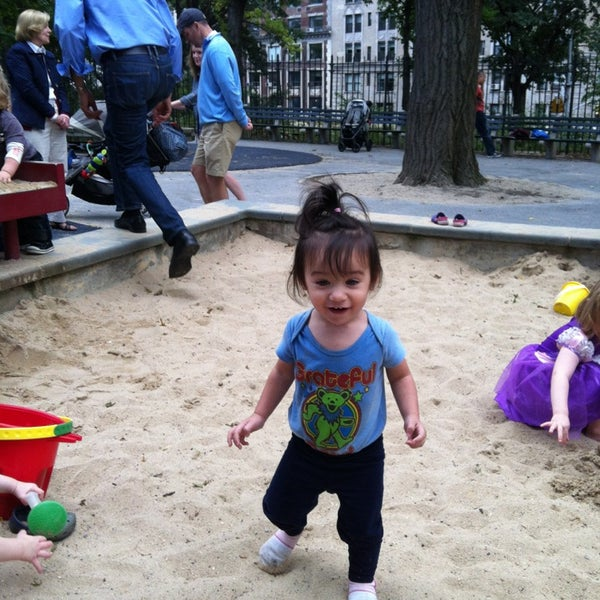 Photo taken at Central Park - Mariners' Gate Playground by Alex G. on 9/15/2013