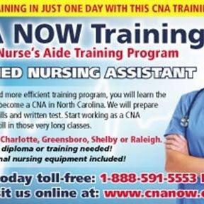 Cna Now Training Charlotte Medical School