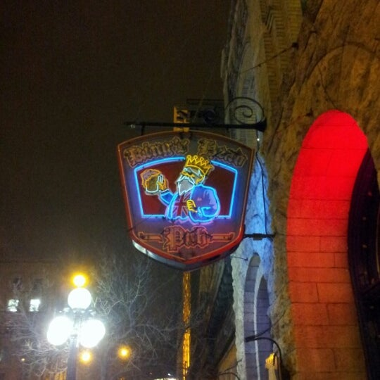 Photo taken at King's Head Pub by Ben R. on 12/6/2012