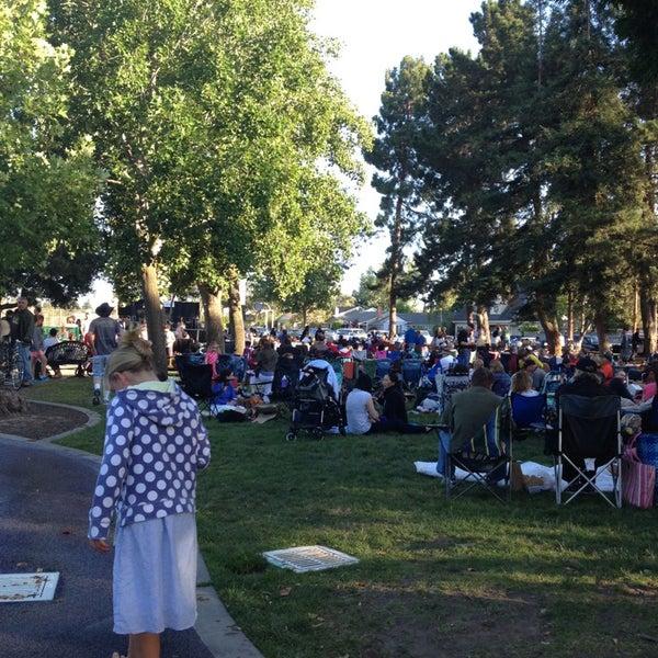 Photo taken at Burton Park by Beth L. on 7/6/2013