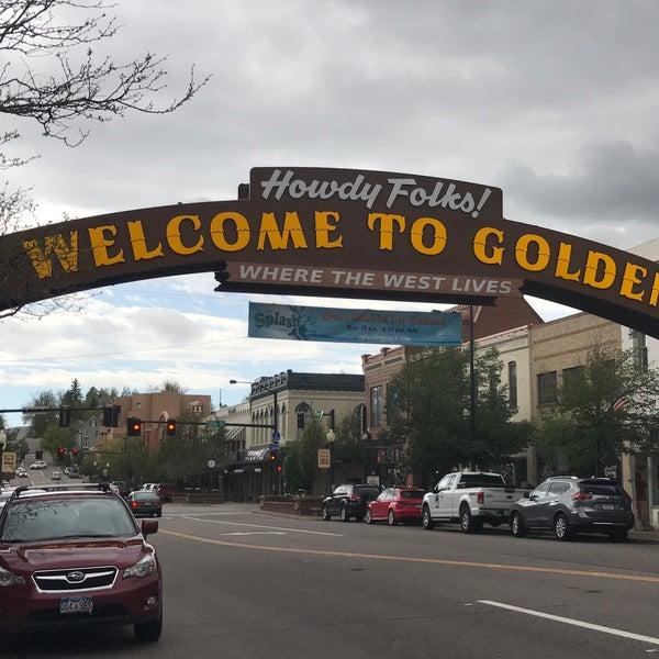 Photo taken at Golden, CO by Jennifer B. on 5/27/2017
