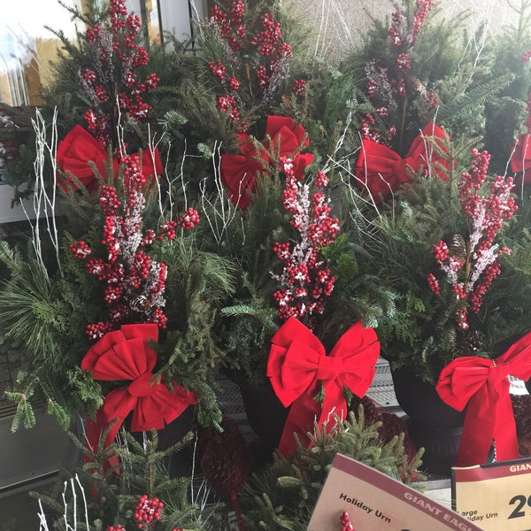 photo taken at giant eagle supermarket by allie on 1252016 - Giant Eagle Christmas Hours