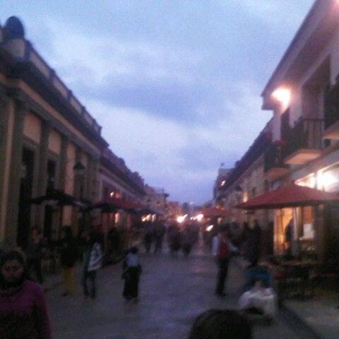 Photo taken at Andador Real de Guadalupe by Jesús R. on 10/26/2012