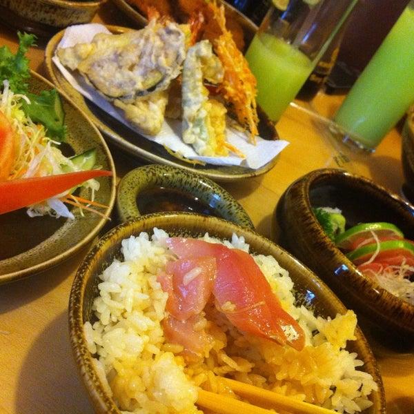 Muy cercano al sabor de los restaurantes de Japón :)