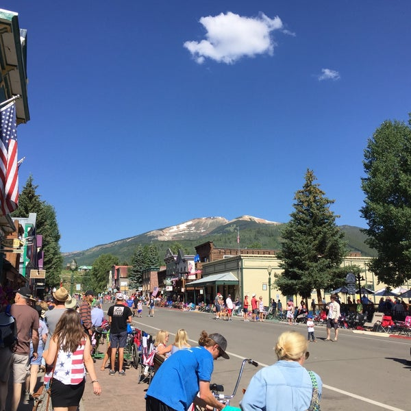 Photo taken at Crested Butte, CO by Michael E. on 7/4/2017
