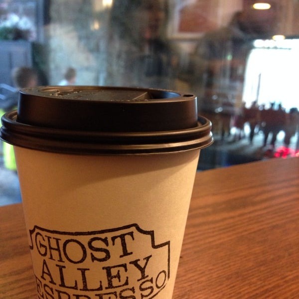 Photo taken at Ghost Alley Espresso by Kevin A. on 10/12/2013