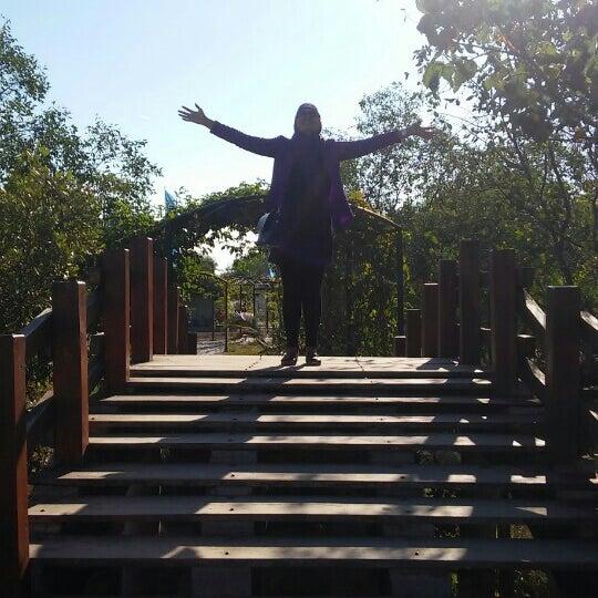 Photo taken at Ekowisata Mangrove by Nestiani H. on 8/28/2015