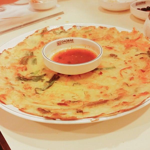 Photo taken at Daorae Korean BBQ Restaurant by Wei Zhao T. on 9/17/2015