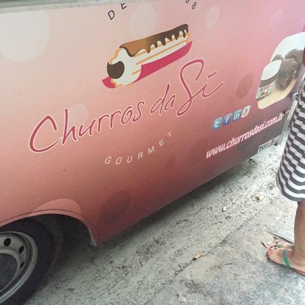 Photo taken at Churros Da Si by Gabriela R. on 1/22/2016