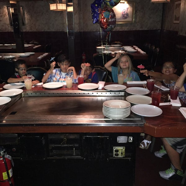 Photo taken at Mt. Fuji Japanese Steak House by Lou A. on 8/2/2015