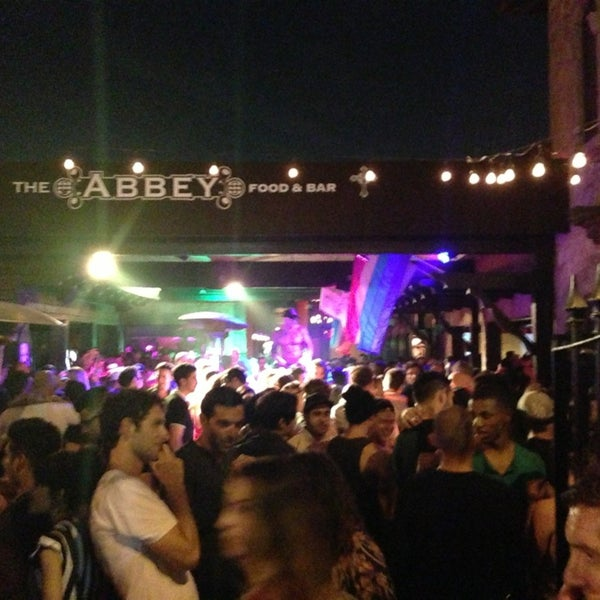 Photo taken at The Abbey Food & Bar by Stewy ®. 🕟-10 on 6/22/2013