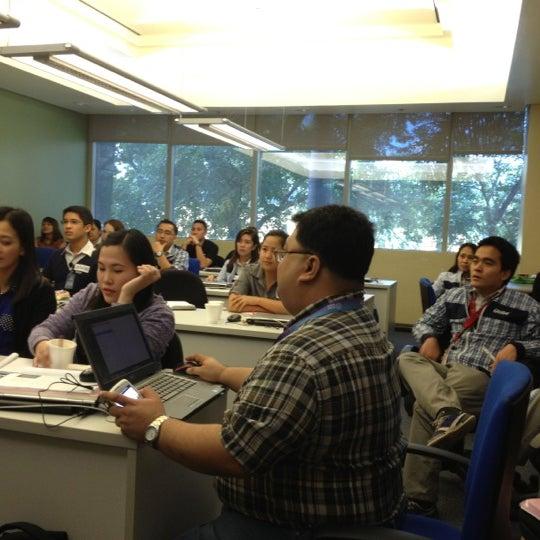 Photo taken at Globe Telecom IT Plaza by Hyacinth R. on 12/3/2012