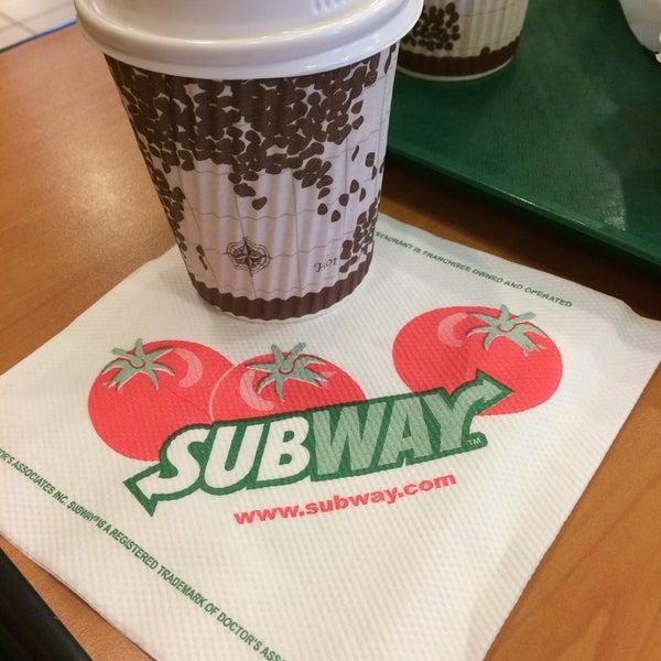 Photo taken at Subway by Bryan H. on 3/26/2015
