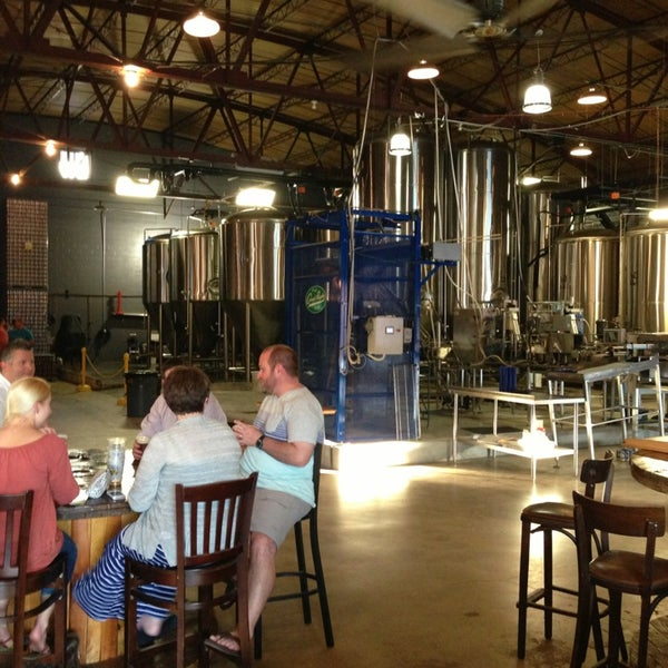 Photo taken at Good People Brewing Company by Dan W. on 6/15/2013