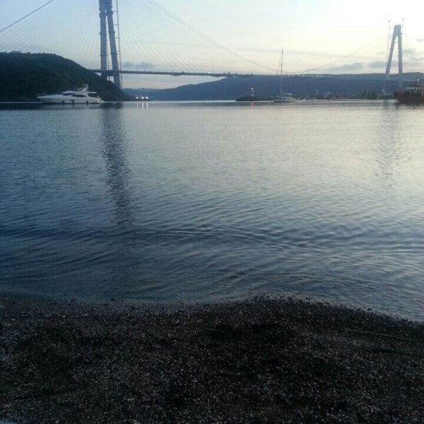 Photo taken at Poyrazköy Sahil by Esra ö. on 6/5/2016
