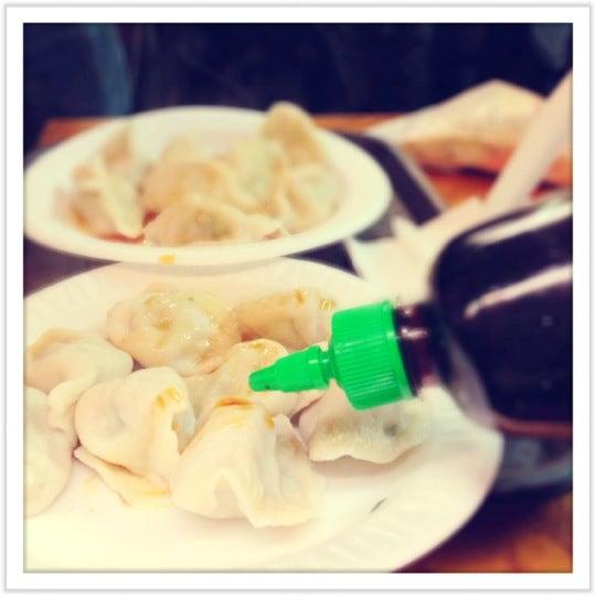 Photo taken at Vanessa's Dumpling House by PaolaSamoa on 11/17/2012