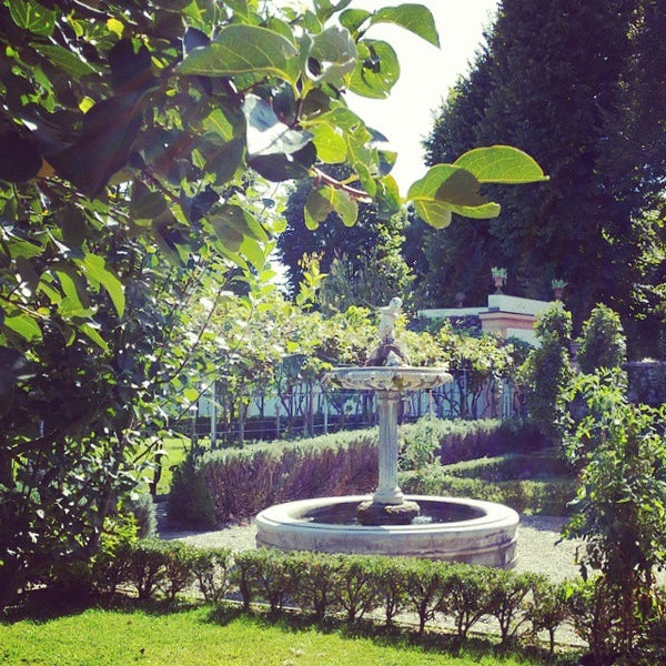 Photo taken at Villa Olmi Firenze by Natasha O. on 9/26/2014