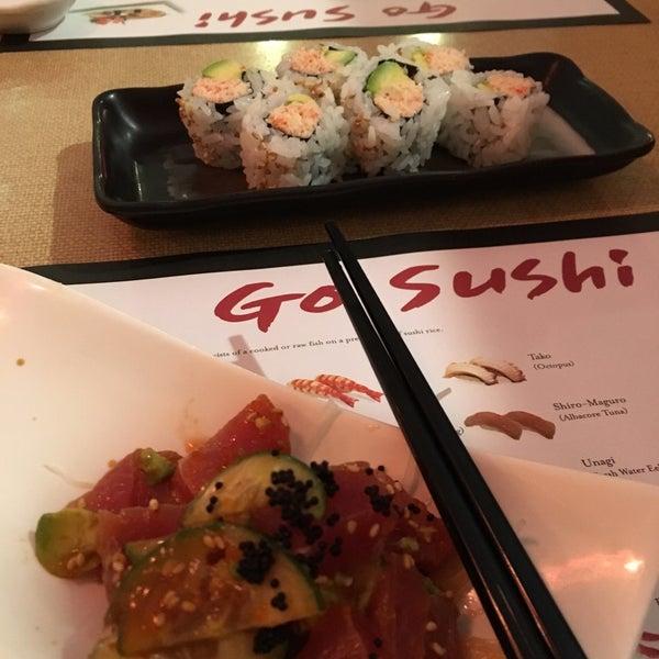 Photos at go sushi japanese restaurant east sharp park for Amber asian cuisine