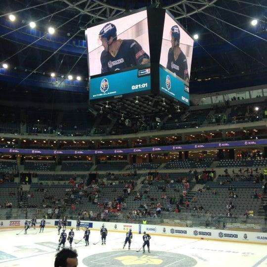 Photo taken at O2 arena by Libor C. on 9/26/2012